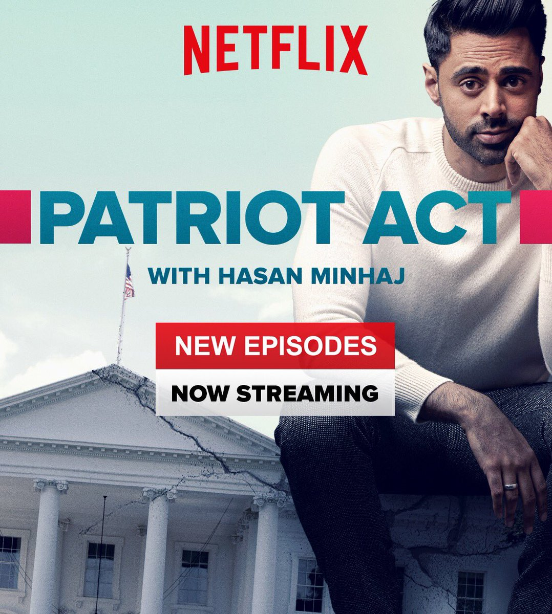 Check out @hasanminaj @netflix show. He's the truth https://t.co/7uIVfxrGdH