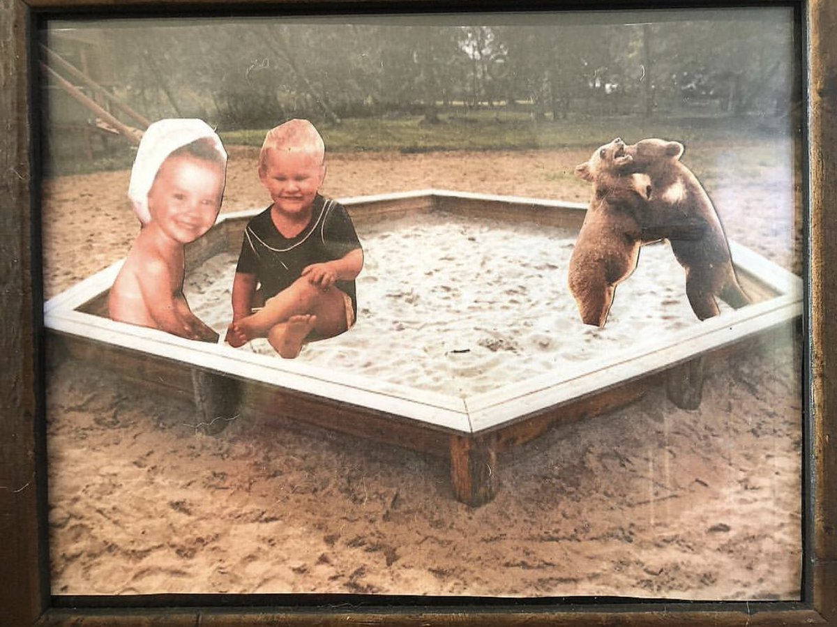 sandbox love. @Souleye ✨✨✨❤️❤️❤️#bearcubs #wakinguptogether #healing #bestkindoffun #littleA #littleS https://t.co/QtxPMc7uz3