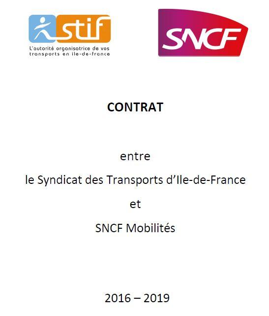 STIF (devenu @IDFmobilites) / SNCF : la négociation du prochain contrat va commencer dans les prochaines semaines. Elle s'annonce difficile https://t.co/gQ2IiYjJ4a