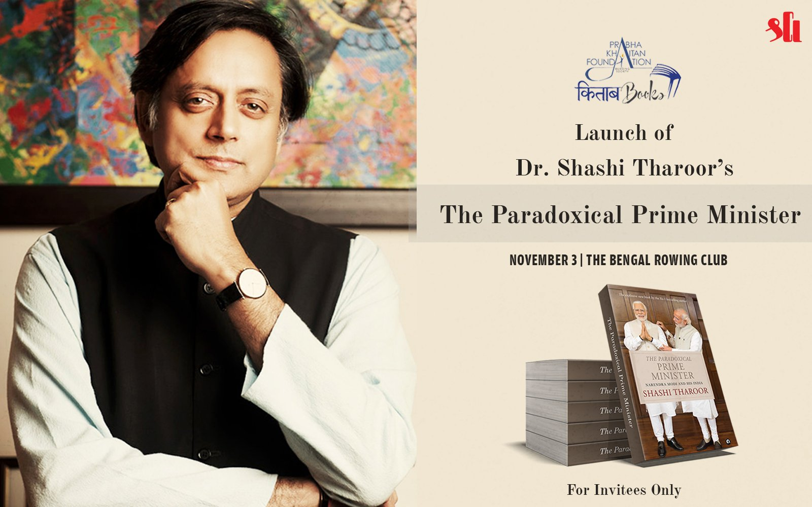 The Paradoxical Prime Minister Tharoor Introduces His New Book On