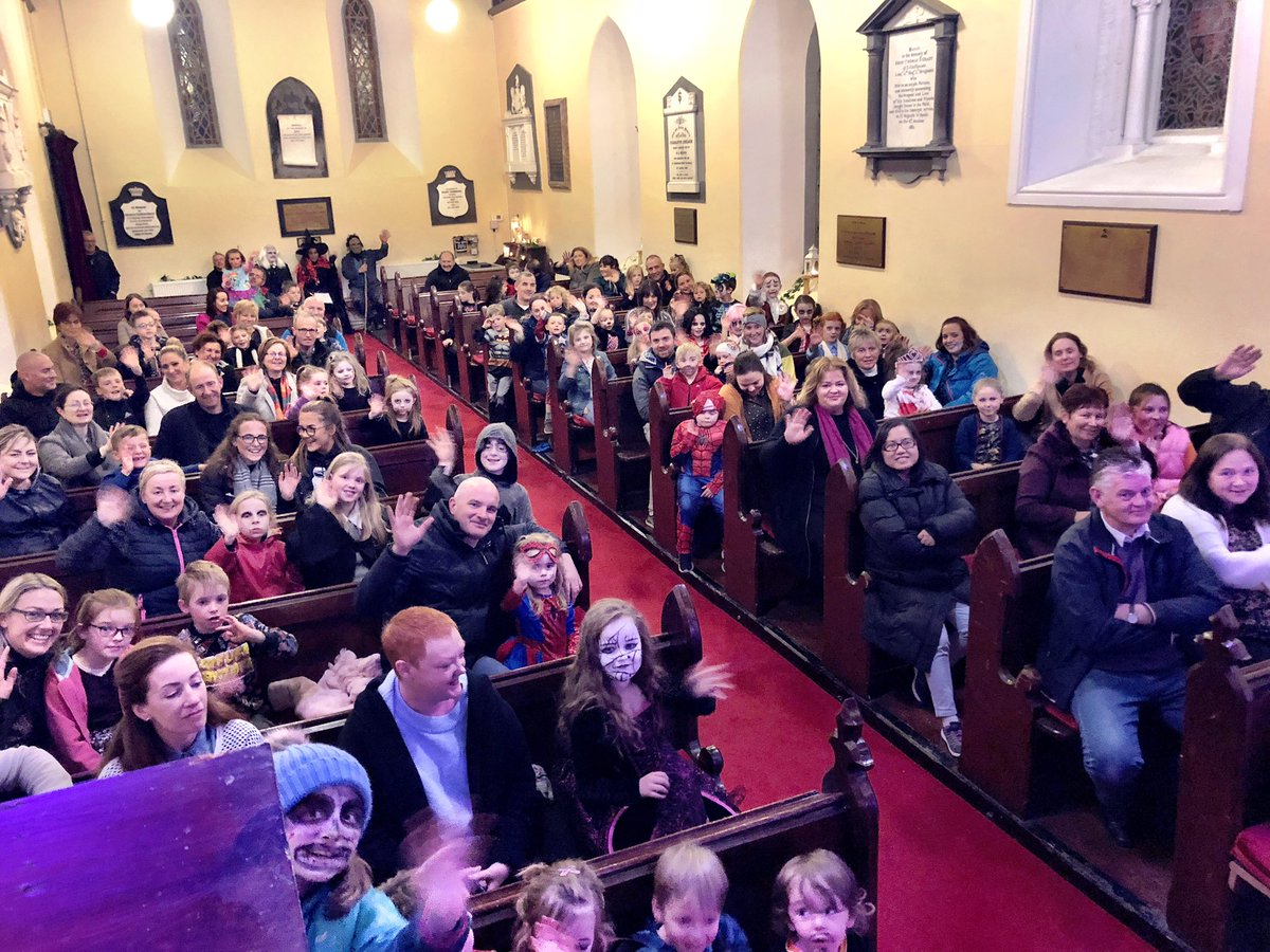 test Twitter Media - The view from the pulpit at tonight's performance at St John's Church in Knockainey... #HappyHalloween https://t.co/zok6n3laYo