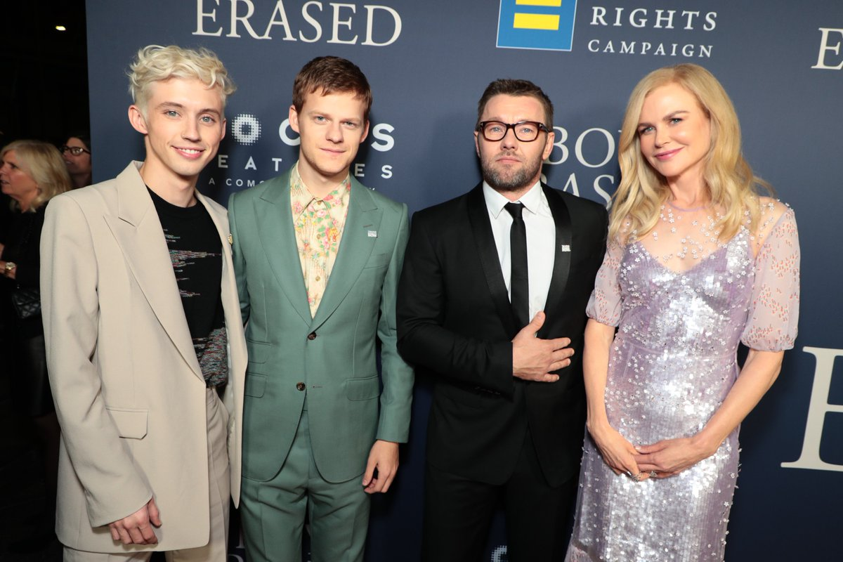 RT @BoyErased: Celebrating #BoyErased in LA. See more from tonight on our Instagram story ➡️ https://t.co/wXDUXFnmUS https://t.co/dSHvEjJAsw