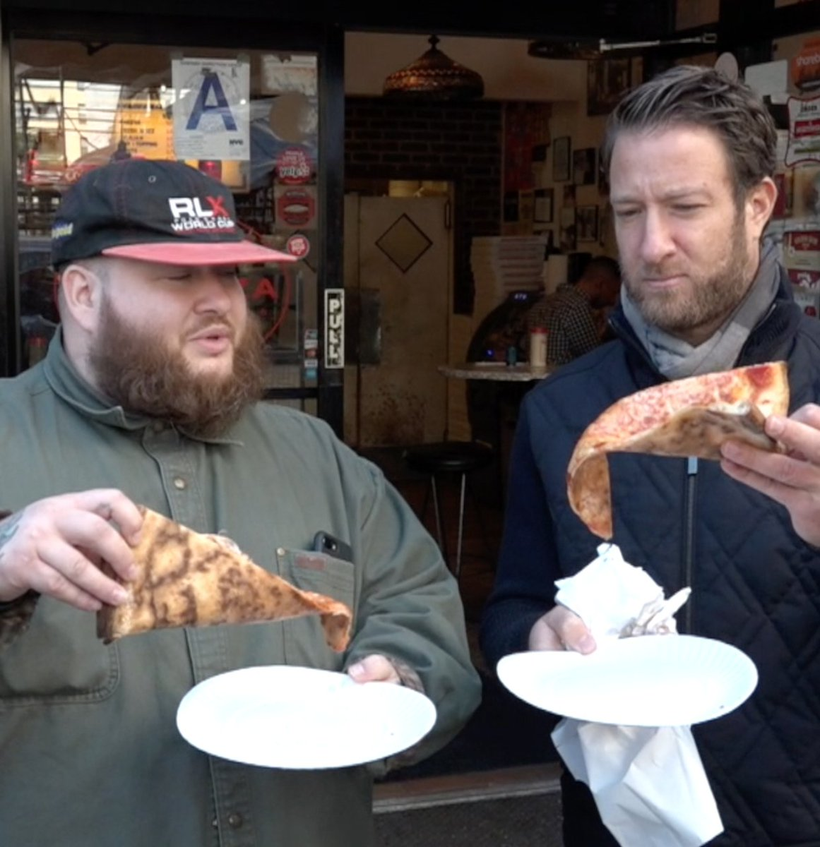 RT @stoolpresidente: Barstool Pizza Review - Joe's Pizza With Special Guest @ActionBronson  https://t.co/Mc7kVhQzvB https://t.co/0bmQAyHIRv