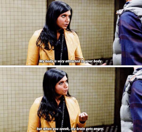 Dating though. #TheMindyProject https://t.co/5MwB5nt5o2