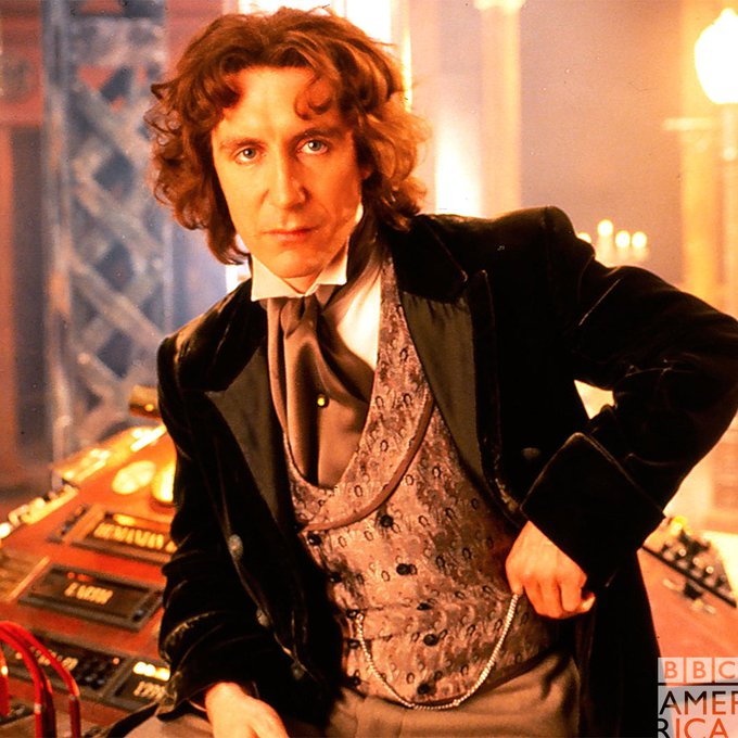 Speaking of the Eighth Doctor, happy birthday to Paul McGann!