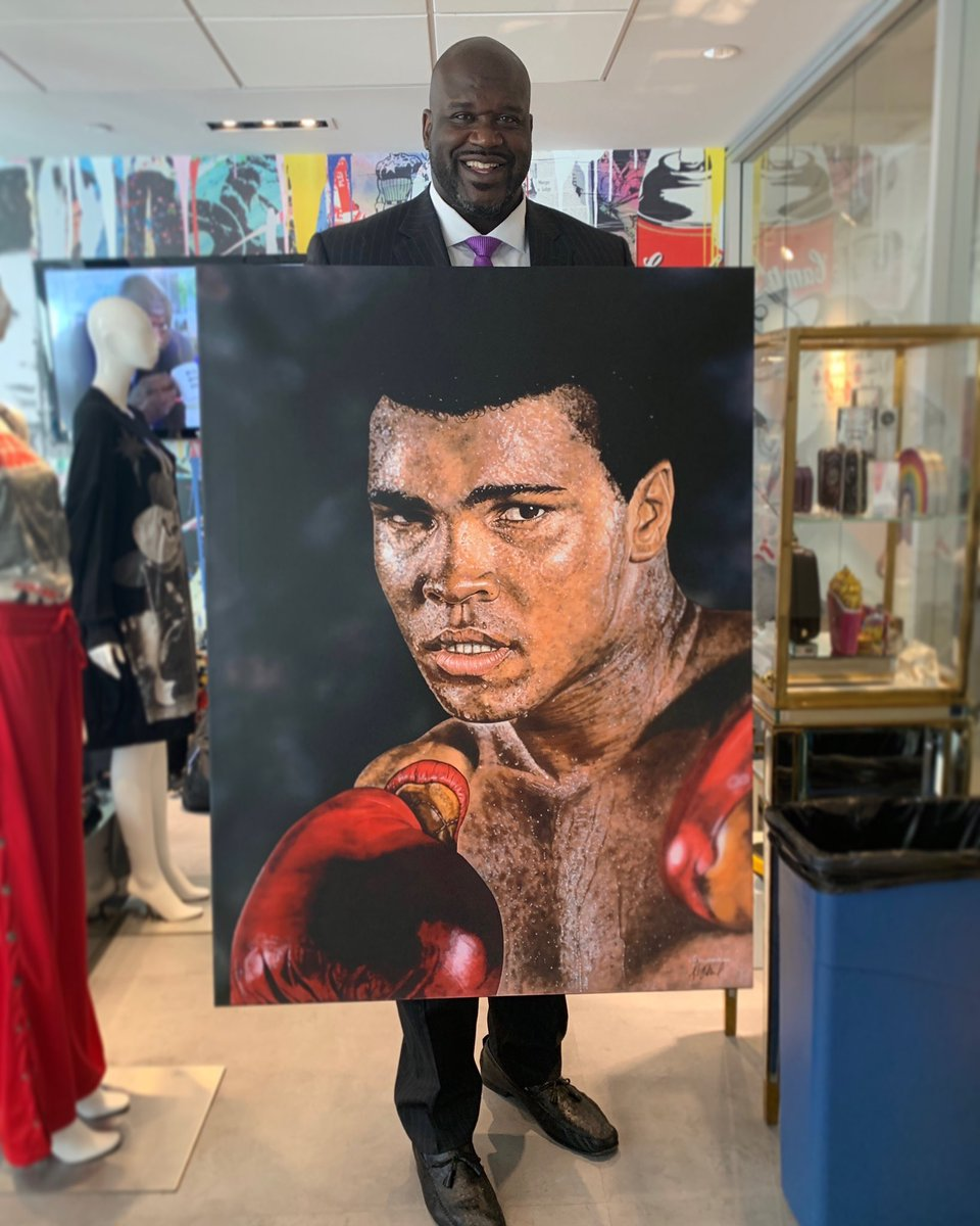 Thank you @AVStudios for this amazing @MuhammadAli painting #art https://t.co/xNwId2LWy6