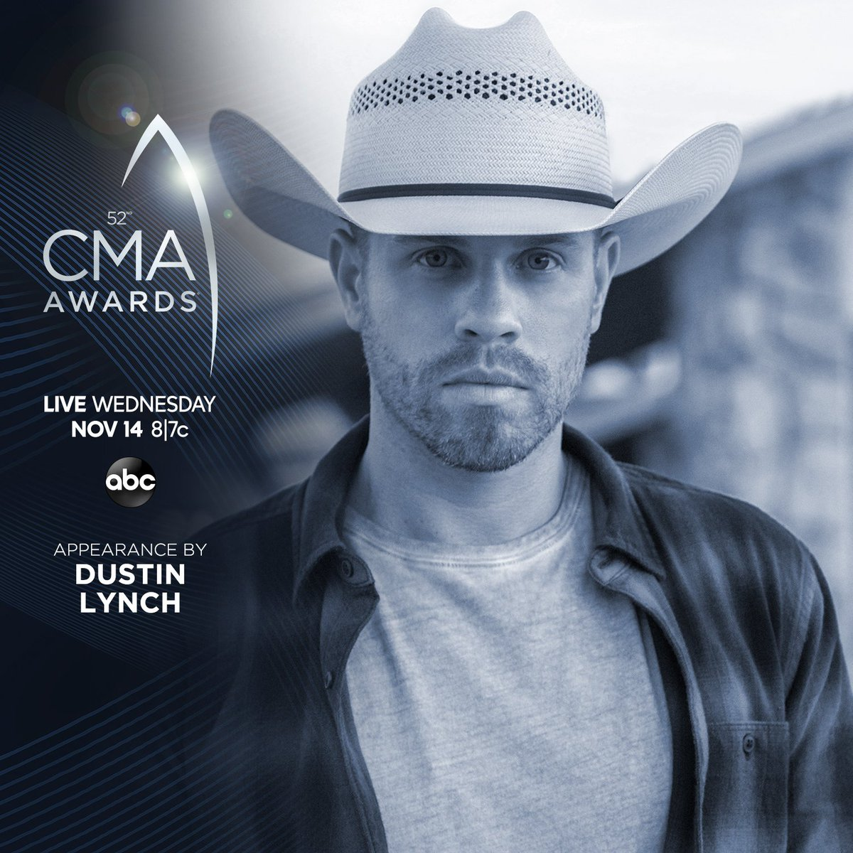 RT @dustinlynch: It's Country Music's BIGGEST Night! I'm presenting at the #CMAawards this Wednesday at 8|7c on ABC! https://t.co/dIJxgcIB02