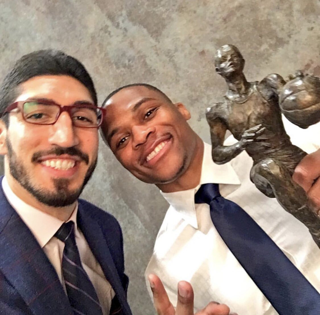 RT @Enes_Kanter: Happy birthday to my brother @russwest44 ???? https://t.co/CcdeUtMDOz
