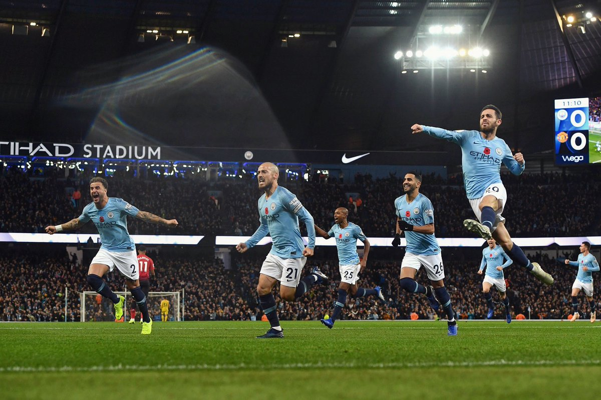 What derby goal celebrations look like!! 🔵🔵 https://t.co/mzJzuhrGA4