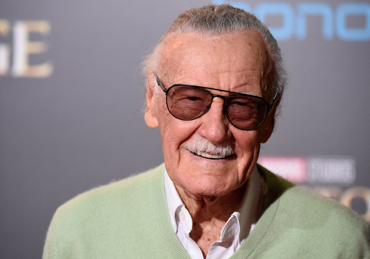 RT @verge: Stan Lee dies at 95 https://t.co/HoMSR69Mjn https://t.co/jp0zMCR3QW