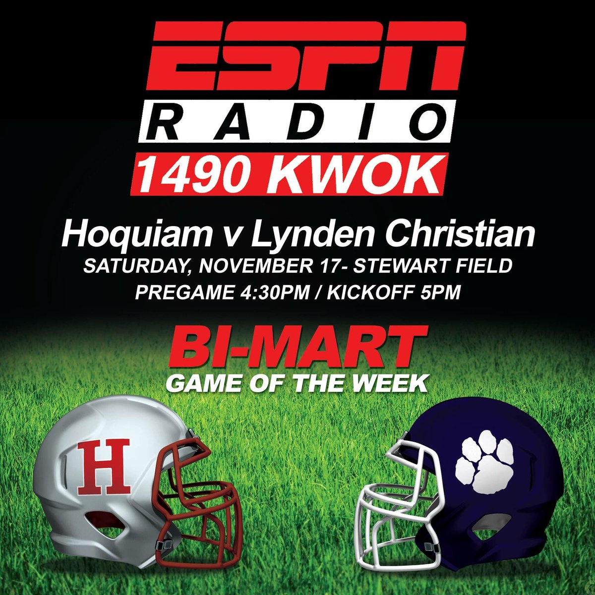 test Twitter Media - Hoquiam fights the Lyncs for a trip to the State Semifinals!!! #wafbscores https://t.co/nUjyj1ihIZ