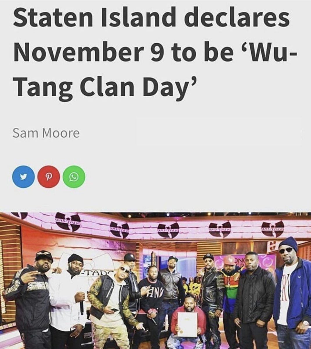 RT @RZA: EPIC. #WuTang https://t.co/J4ploR13LK
