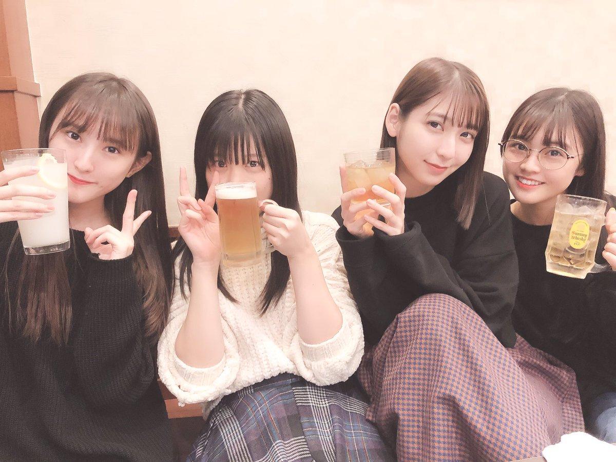 下野由貴、田中菜津美、植木南央らHKT1期生メンバーで焼肉