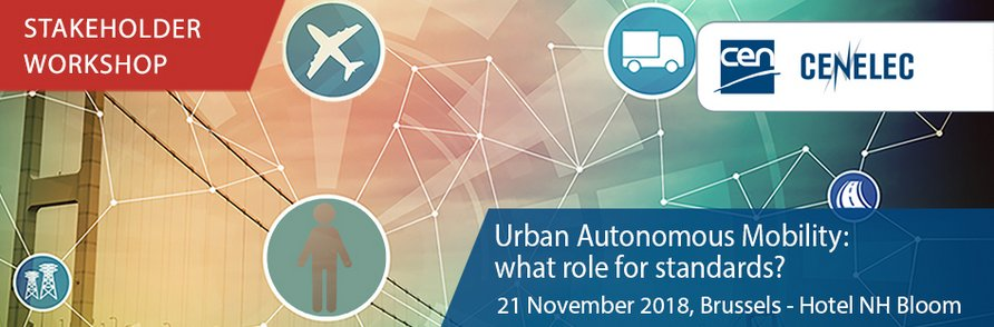 test Twitter Media - #Urban #Autonomous #Mobility - What role for #standards? @Standards4EU = A #workshop to discuss & identify specific standardization gaps | 21 Nov 2018, Brussels | Take a look at the programme and register: https://t.co/ijrkCPa7ej https://t.co/DcMpIBn3ek
