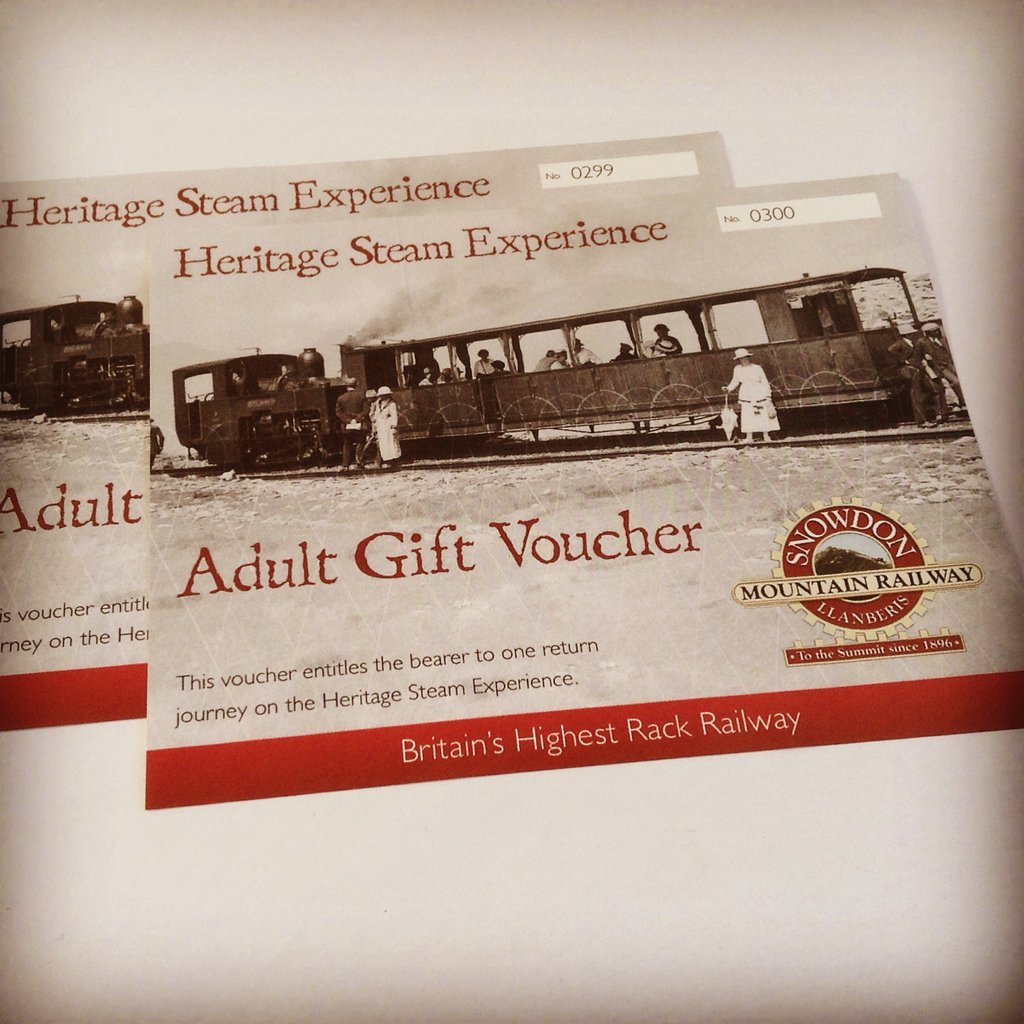 test Twitter Media - The perfect Christmas present - #Snowdon Mountain Railway gift vouchers! Available for adults & children, for both the Heritage Steam Experience & Traditional Diesel Service. Order in time for Christmas by calling 01286 870 223. #ChristmasIsComing #giftideas #TuesdayThoughts https://t.co/evsutVyROv