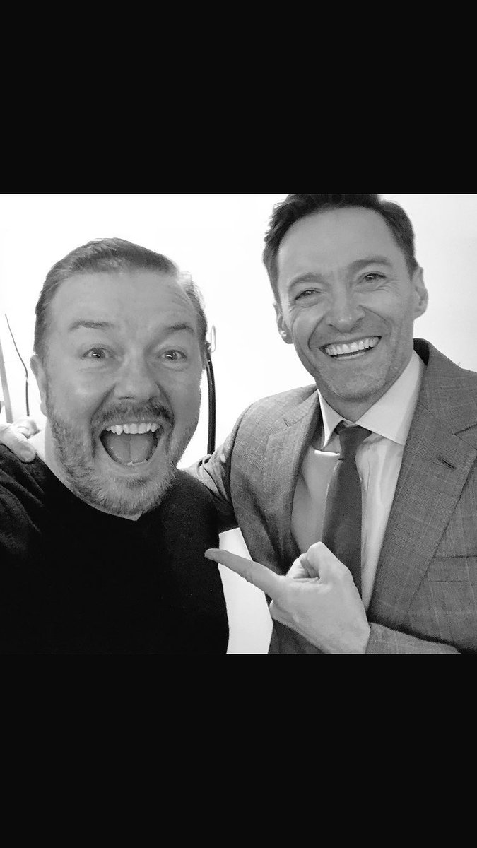 My vote for Sexiest Man Alive 2019 ... @people @rickygervais Who's with me?! https://t.co/Zh5uXhAODk