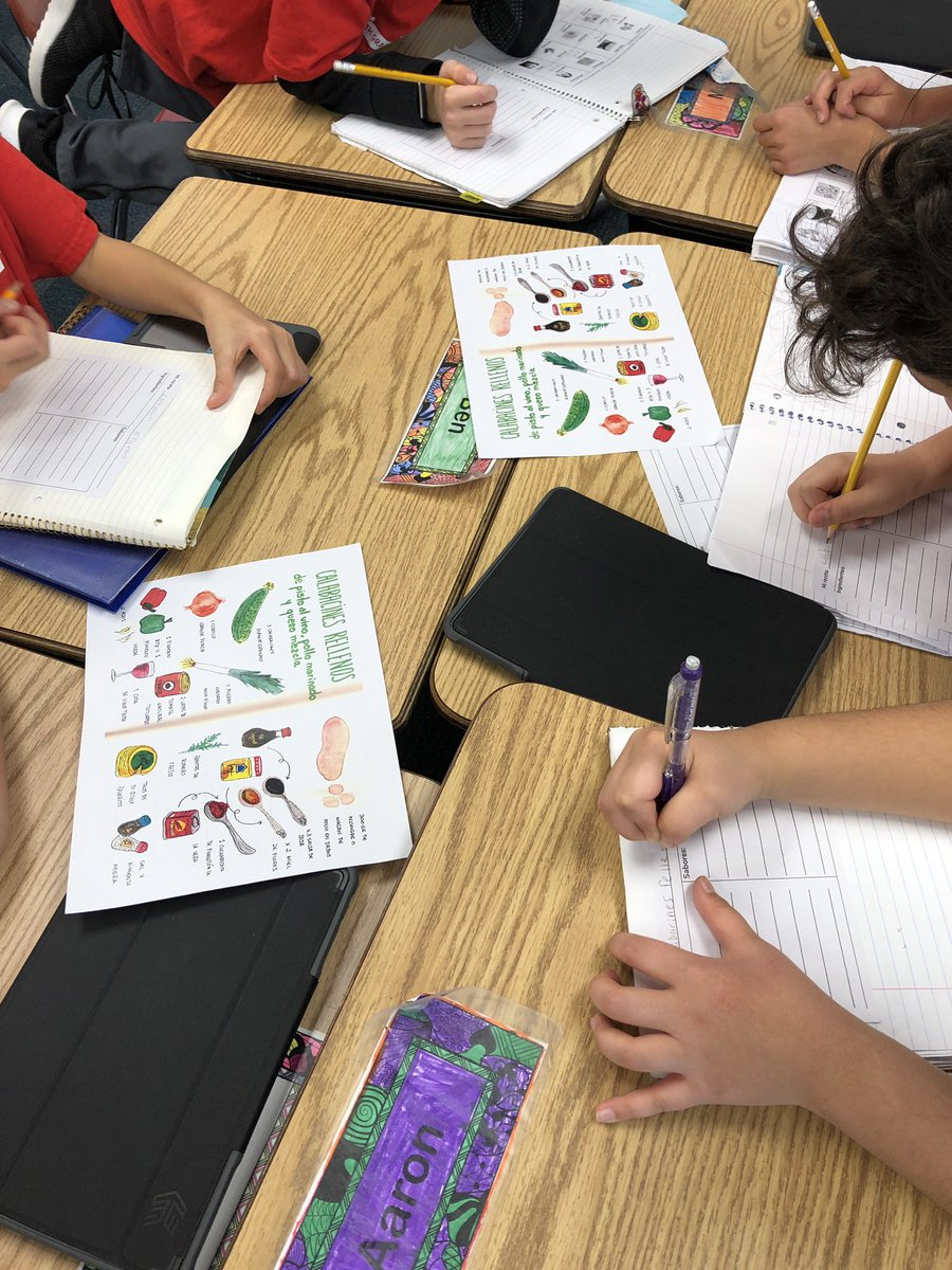 test Twitter Media - Reading visual recipes for ingredients and flavors in preparation for sharing our own cultural recipes #d30learns #earlylang #langchat https://t.co/q6ZNIh0gNK