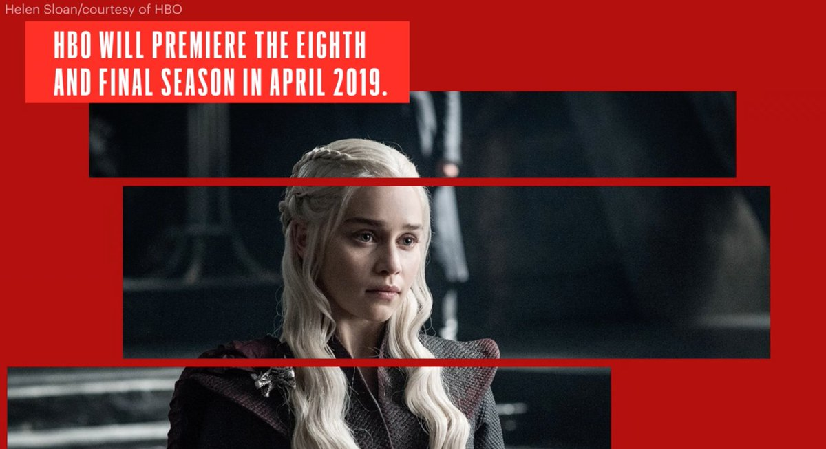 HBO is finally revealing more about when GameOfThrones season 8 will kick off: