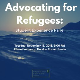 test Twitter Media - Tonight at 5pm: As part of #IEW, students who worked last summer with organizations that support #refugees in Chicago, California, Greece, and Jordan will share their experiences @WesCareerCenter : https://t.co/aHw7yjMaid https://t.co/nxDUXEytuf