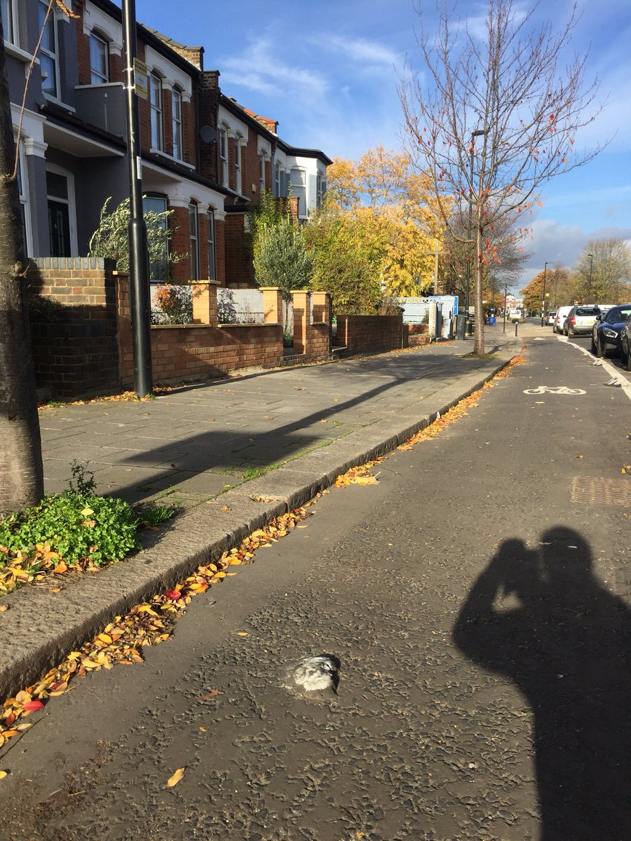 test Twitter Media - @CycleEnfield I like the way this potentially lethal lump of tarmac is highlighted in white, but can we get rid of it now? Happy to bring a hammer and chisel on my next ride if not 😉  (A105, northbound lane just south of Winchmore Hill Methodist Church) https://t.co/qidaV6JeZu