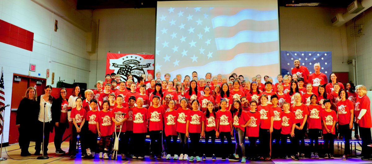 """test Twitter Media - Bravo to music teacher Quentin Coaxum and the Wescott fourth graders for honoring our veterans in a very special way during their wonderful performances of the musical """"Heroes"""" on November 12 and 13! #d30learns https://t.co/bRMBV9q5q2 https://t.co/Xv8tBo4EP9"""