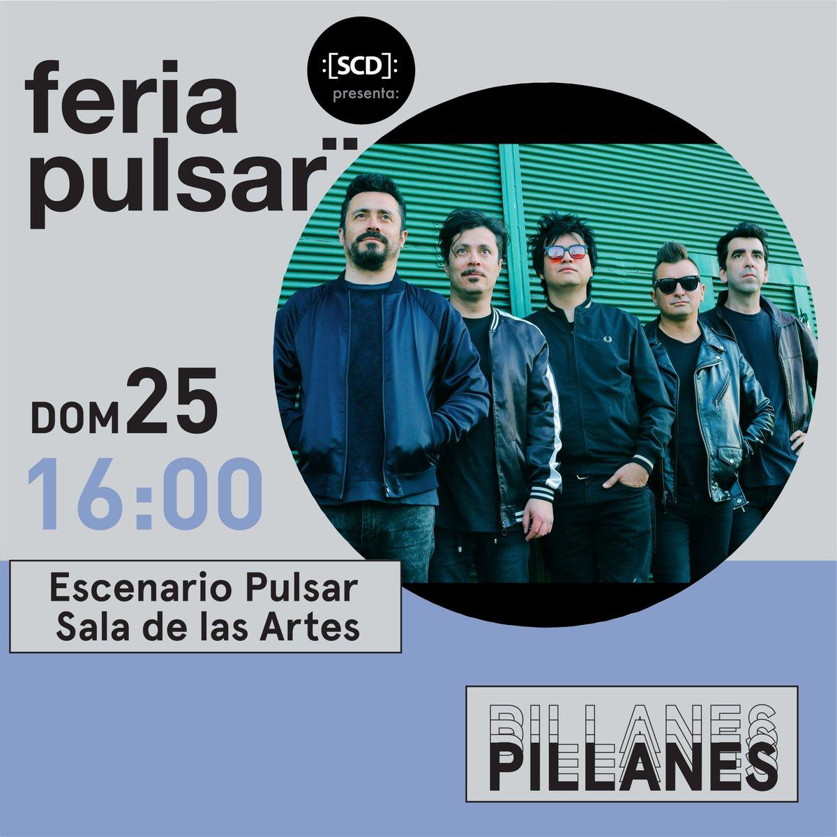 """test Twitter Media - .@PillanesDeChile el pasado viernes lanzó su disco debut """"Pillanes"""" y el próximo 25 de noviembre debutan en vivo en #FeriaPulsar2018 👌  ¡imperdible 👏! https://t.co/ouvRWeXIQw"""
