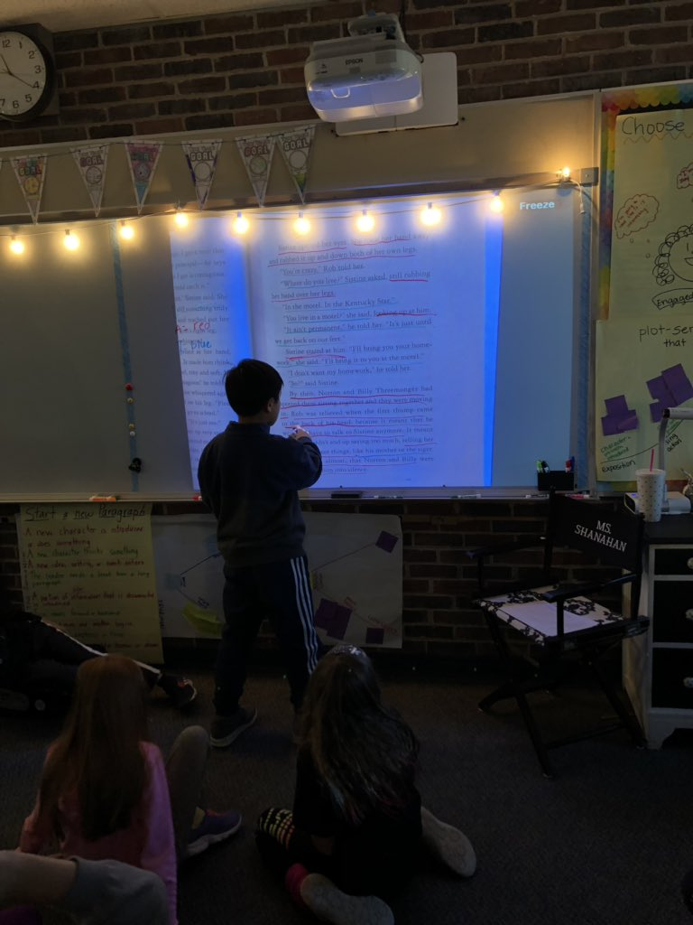 test Twitter Media - Analyzing dialogue, action, and thinking in mentor texts to help enhance our own realistic fiction stories! #d30learns https://t.co/oTQyxrJx2B