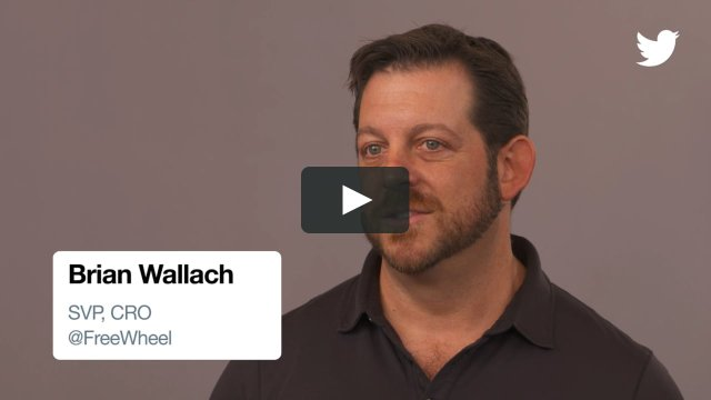 What's the key to connecting with consumers? Hear from FreeWheel's Brian Wallach in this Twitter Marketing video fr… https://t.co/reZeJyfSWW