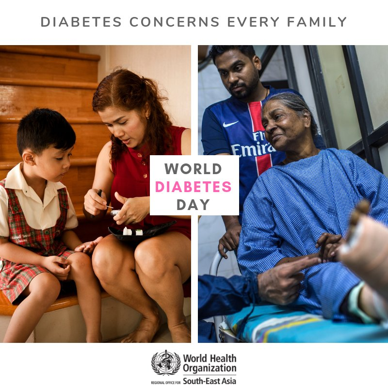test Twitter Media - It's #WorldDiabetesDay  This year's theme aims to highlight the impact #diabetes has on families and the role of family members in supporting prevention, early diagnosis and good management of diabetes. https://t.co/h33gihuYZx