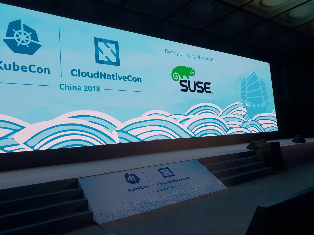 RT @t_di_g: #kubecon + #CloudNativeCon China is about to start! Come and see @SUSE there. https://t.co/ZTEfvHUepL