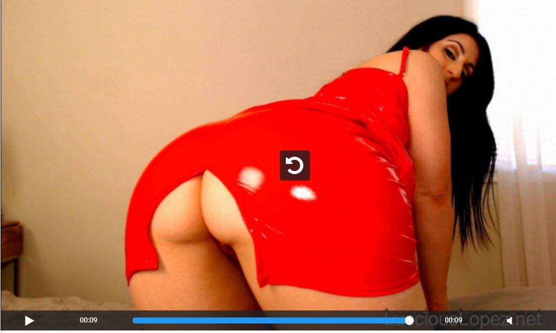 Luscious Lopez red vinyl dress JOI ssIpkIEat6 NJJkFHdlTc