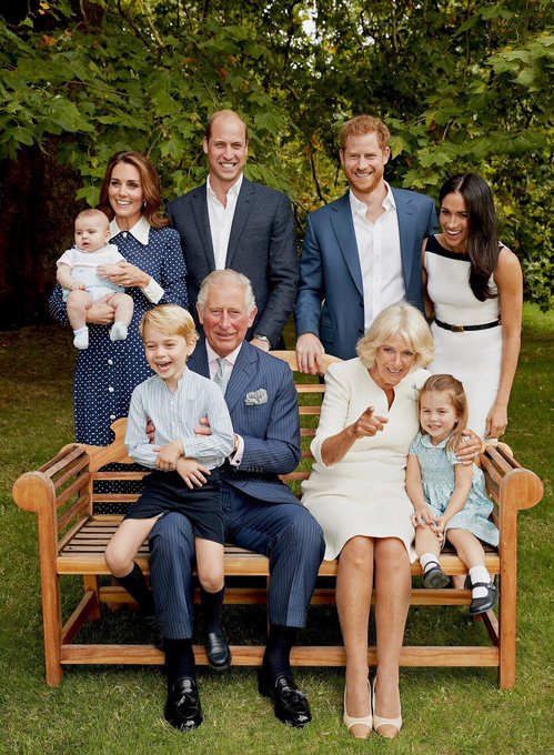 Happy 70th Birthday to Prince Charles! Beautiful family photo