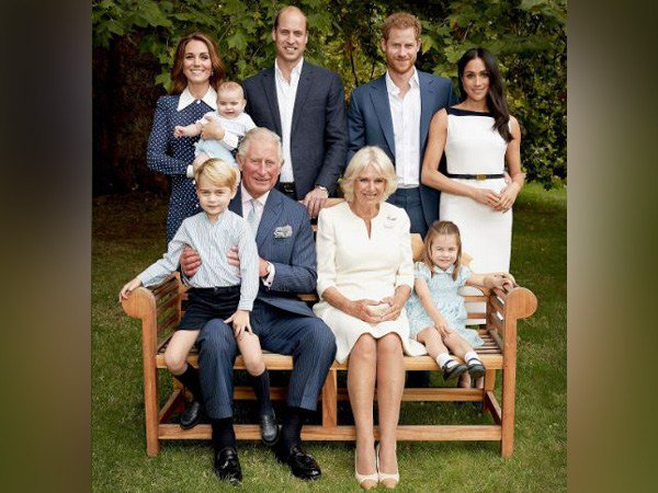 Royal family poses for a happy picture on Prince Charles 70 birthday