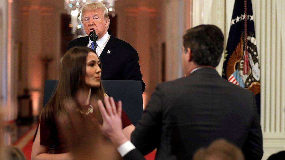 CNN has sued the White House