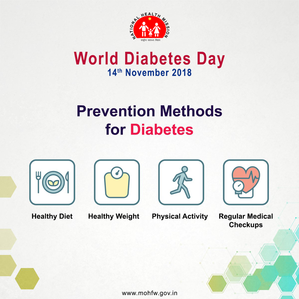 test Twitter Media - #Diabetes can be prevented by practicing #HealthyHabits regularly. Ensure you stay safe from its risks. #BeatNCDs #SwasthaBharat #WorldDiabetesDay https://t.co/fv0LTfRw37