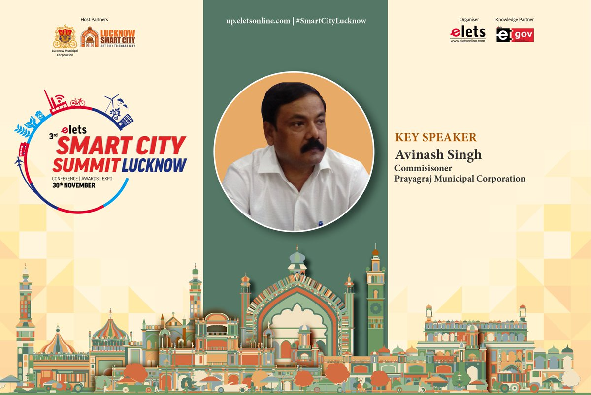 test Twitter Media - We welcome Avinash Singh, Commissioner, Prayagraj Municipal Corporation as a key speaker at #smartcitylucknow to be held on Nov 30.  For more info visit: https://t.co/rHaOMH2X29  @ArpitKGupta @LkoSmartCity https://t.co/xD5vpFzozM