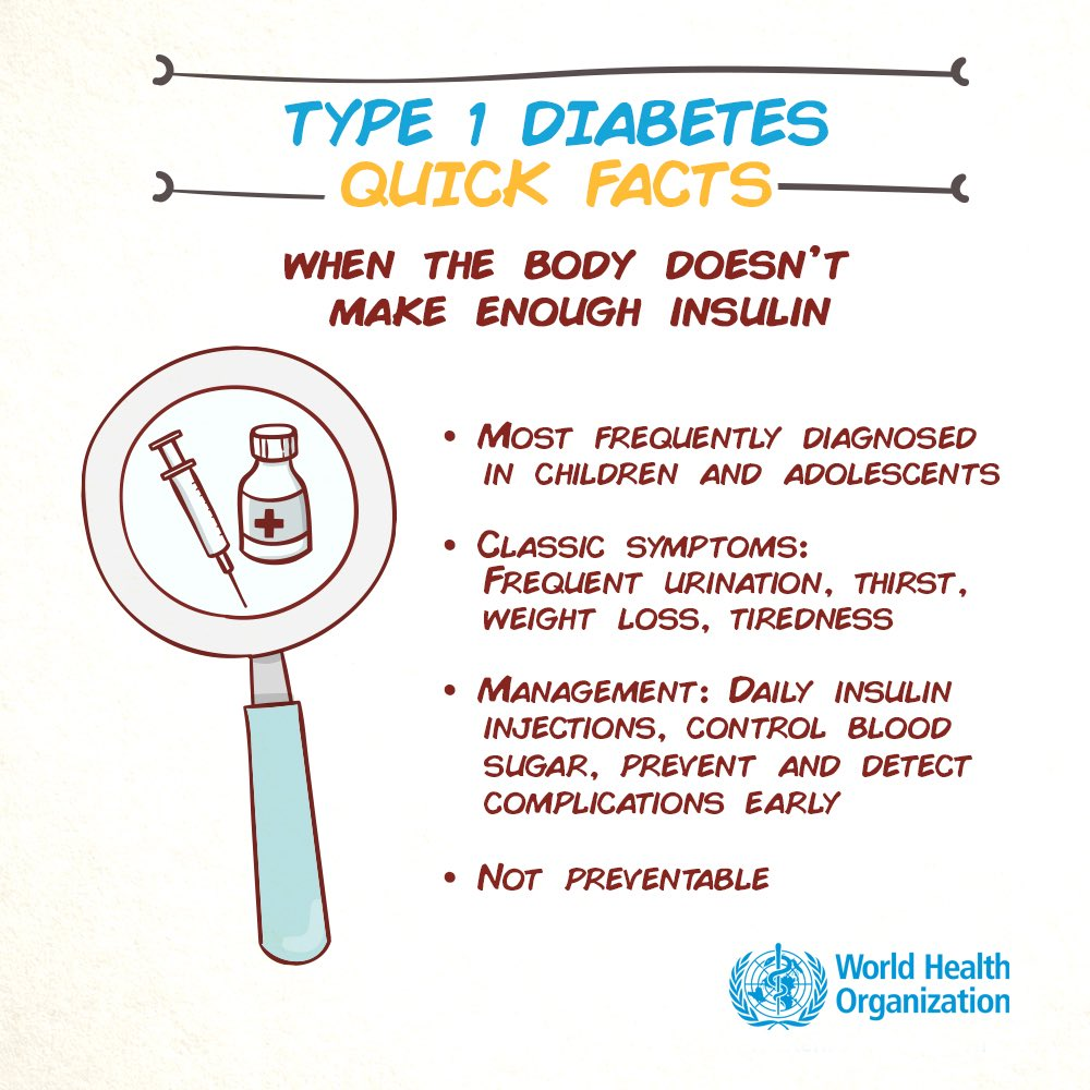 test Twitter Media - Today is #WorldDiabetesDay.   Type 1 #diabetes happens when the body doesn't produce enough insulin. Type 2 diabetes happens when the body can't use insulin well. Learn more about diagnosis and treatment of diabetes here: https://t.co/VRZjNxWemc https://t.co/mhQEFYJVbh