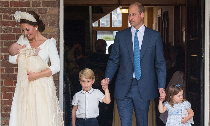 Prince William reveals how Prince Charles has inspired the way he raises his own children: