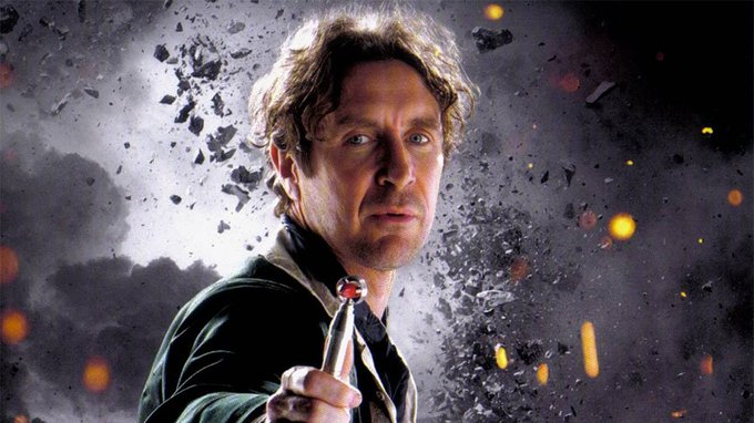 Happy Birthday to Paul McGann who played The Eighth Doctor.