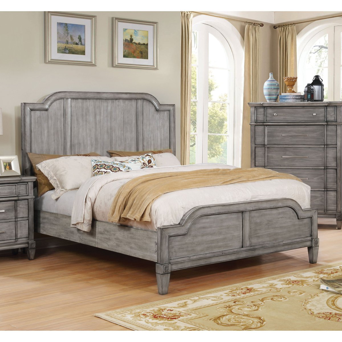 Furniture of America Dresdelle I Transitional Wooden Grey Queen-size Bed USD 1,527.00 https://t.co/DryibEbuiE https://t.co/RfA4gQ2f0s