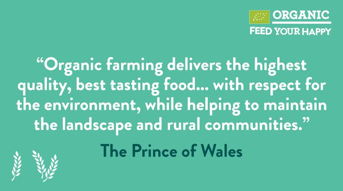 Happy birthday to Britain\s best known organic farmer, Prince Charles.