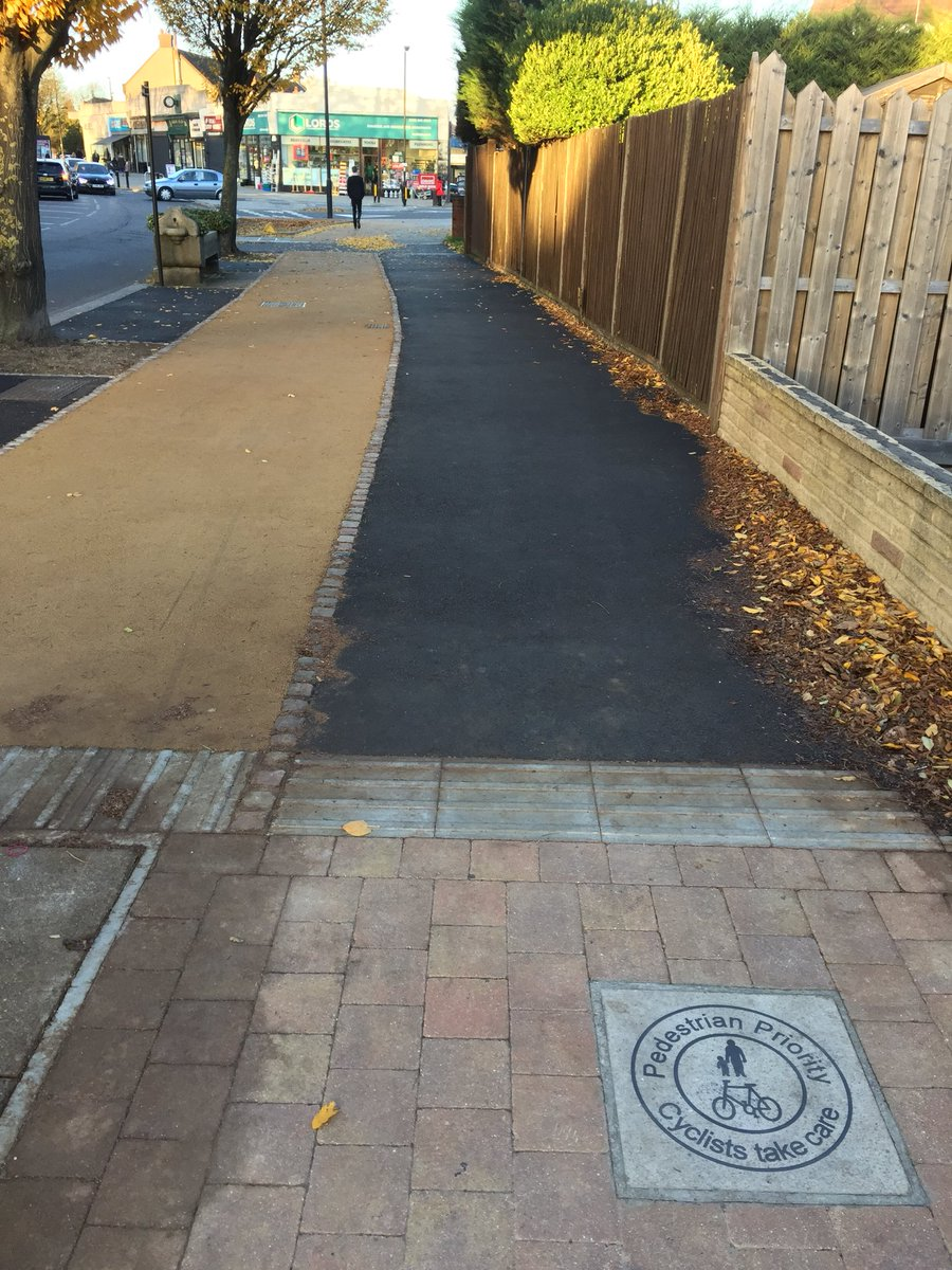 test Twitter Media - @rossatkin @psimonk @RantyHighwayman @CycleEnfield Yes, there is a delineator strip - you can see it in this photo. It is a tactile surface, just not as wide as those elsewhere in the scheme. https://t.co/6rqWzDigYt