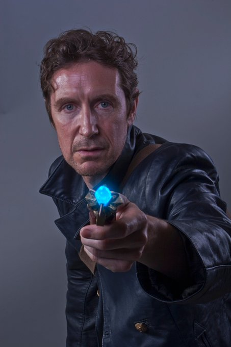 A very happy birthday to the Eighth Doctor, Paul McGann!