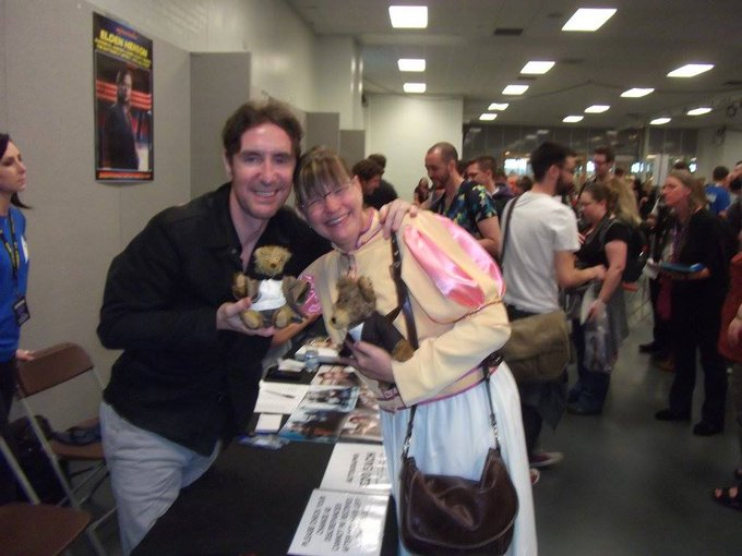 Happy Birthday to Paul McGann.  Many good wishes for the coming year.