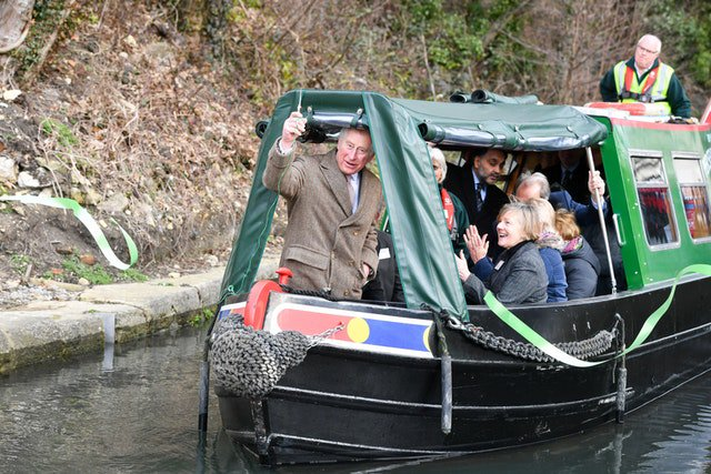 Happy Birthday Prince Charles! May your love for narrowboats continue