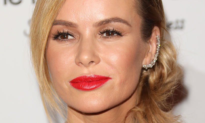 Amanda Holden's white floral dress is so pretty, we can't stop looking at it