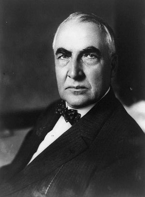 Happy Birthday Warren G. Harding, our 29th President who was born on this day in 1865.