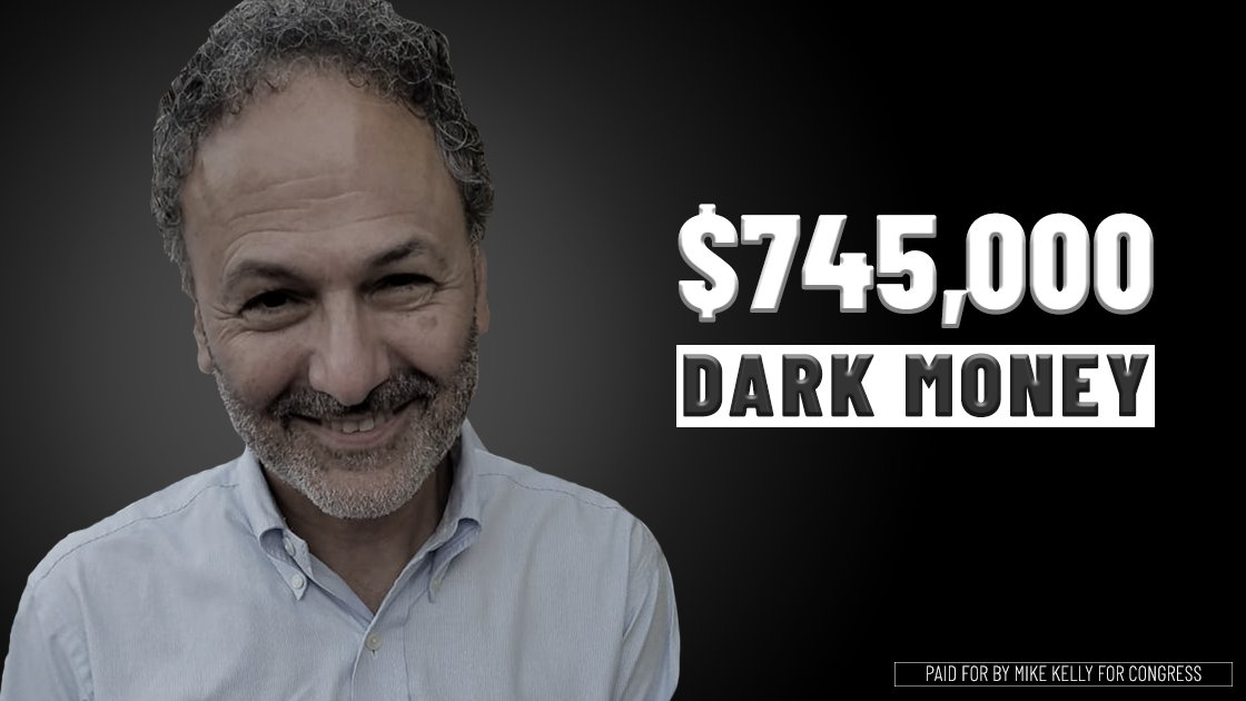 Ron DiNicola's shady friends are funding his campaign through dark money.  $745,000! Who are these people?