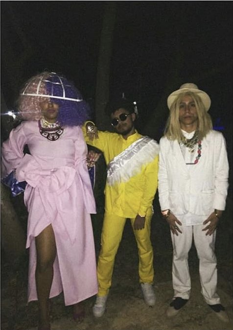 RT @Labrinth: Loving this Halloween extravaganza!! #LSD ???????? @Sia @diplo https://t.co/AVmxX3QHOb
