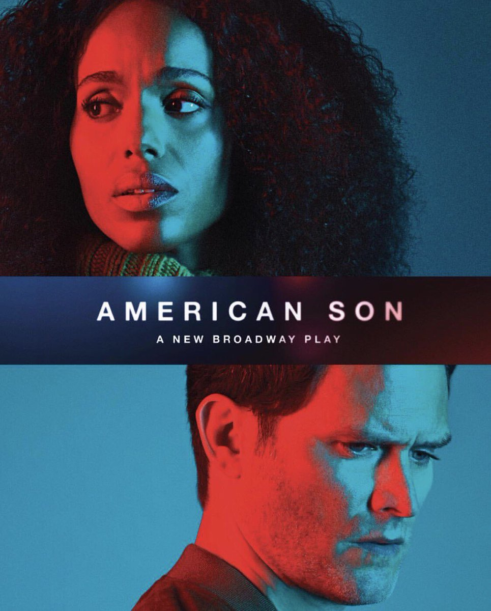 Tomorrow is opening night for @KerryWashington's play #AmericanSonPlay! Break legs, Kerry!! https://t.co/EA5BKB1Otz
